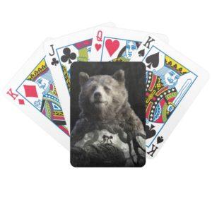 Baloo & Mowgli   The Jungle Book Bicycle Playing Cards