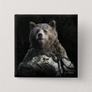 Baloo & Mowgli | The Jungle Book Button