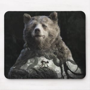 Baloo & Mowgli | The Jungle Book Mouse Pad