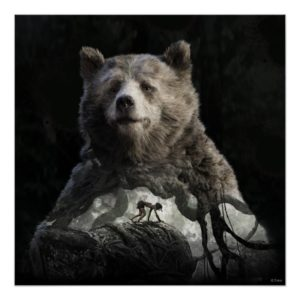 Baloo & Mowgli | The Jungle Book Poster