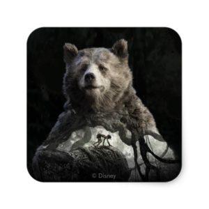 Baloo & Mowgli | The Jungle Book Square Sticker