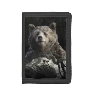 Baloo & Mowgli | The Jungle Book Tri-fold Wallet
