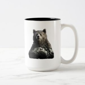 Baloo & Mowgli | The Jungle Book Two-Tone Coffee Mug