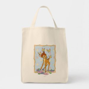 Bambi and Butterflies Tote Bag
