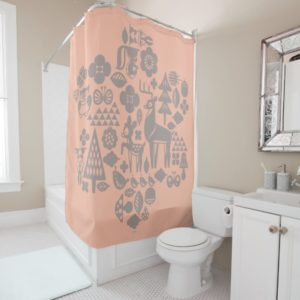 Bambi and Woodland Creatures Shower Curtain