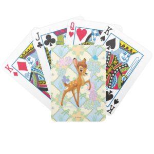 Bambi Bicycle Playing Cards