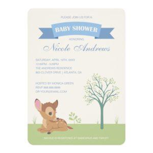 Bambi | Boy Baby Shower Invitation