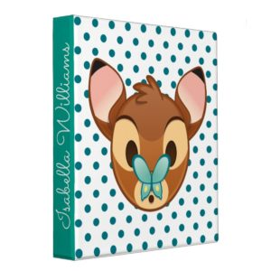 Bambi Emoji 3 Ring Binder