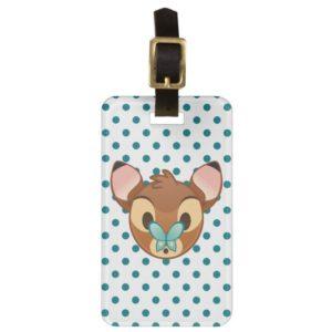 Bambi Emoji Bag Tag