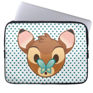 Bambi Emoji Laptop Sleeve