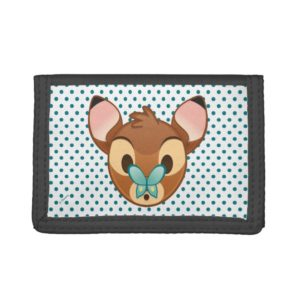 Bambi Emoji Trifold Wallet