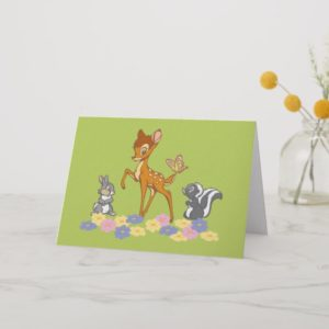 Bambi & Friends Card