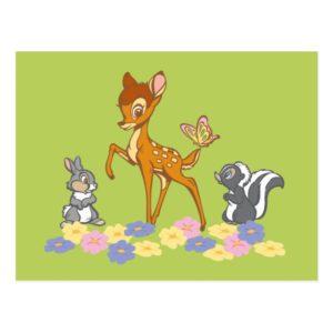 Bambi & Friends Postcard