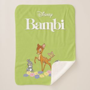 Bambi & Friends Sherpa Blanket