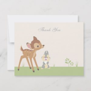 Bambi | Neutral Baby Shower Thank You