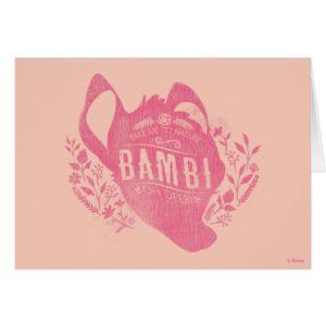 Bambi | Oh Dear
