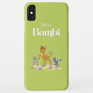 Bambi, Thumper and Flower playing in the flowers Case-Mate iPhone Case