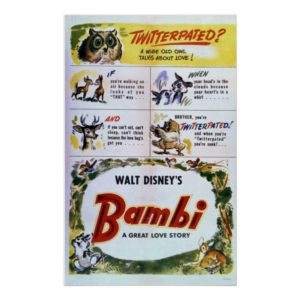 Bambi Twitterpated Poster