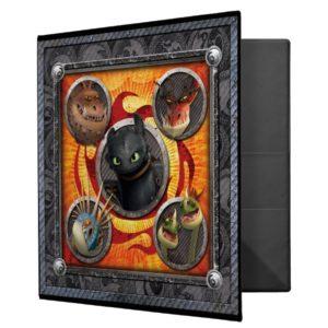 Book of Dragons Binder