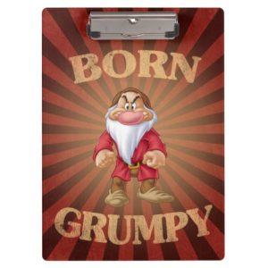 Born Grumpy Clipboard