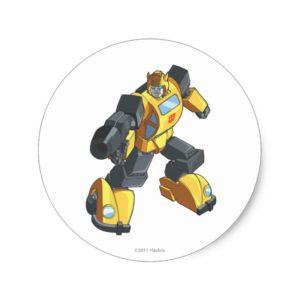 Bumblebee 2 classic round sticker