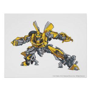 Bumblebee Line Art 3 Poster