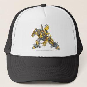 Bumblebee Line Art 4 Trucker Hat