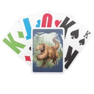 Butch Charging Bicycle Playing Cards