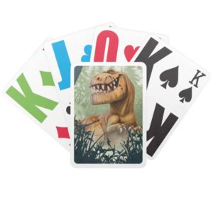 Butch In Forest Bicycle Playing Cards