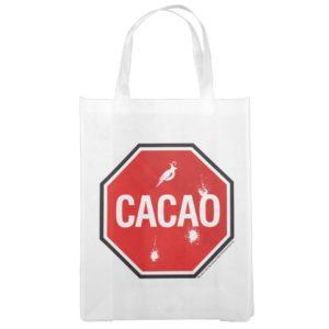 Cacao! Reusable Grocery Bag