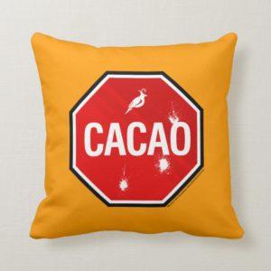 Cacao! Throw Pillow