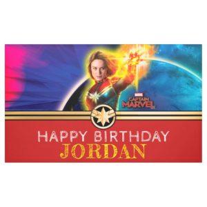 Captain Marvel | Birthday Banner