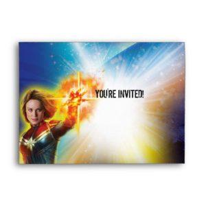 Captain Marvel | Birthday Envelope