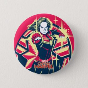 Captain Marvel | Captain Marvel Photon Fists Button