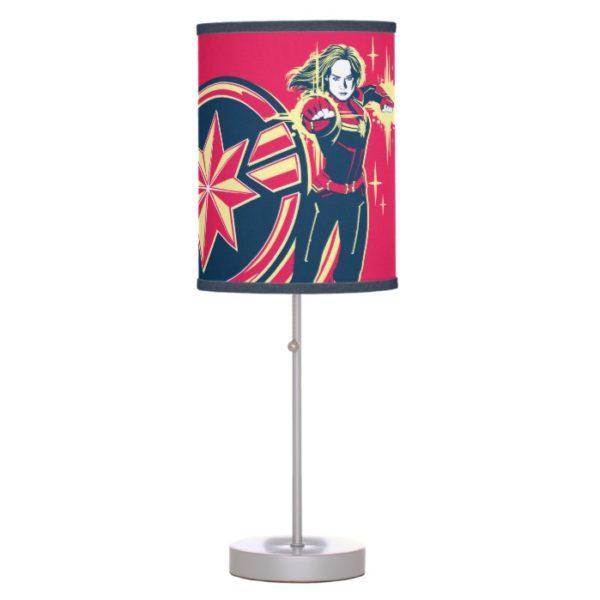 Captain Marvel | Captain Marvel Photon Fists Desk Lamp