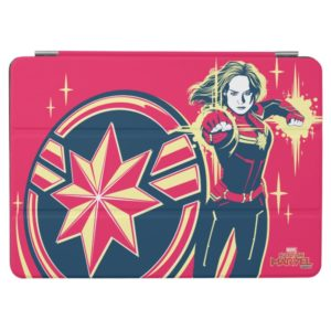 Captain Marvel | Captain Marvel Photon Fists iPad Air Cover