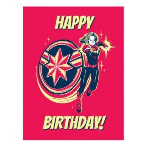 Captain Marvel   Captain Marvel Photon Fists Postcard