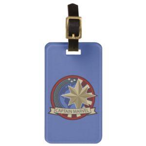 Captain Marvel | Captain Marvel US Military Badge Bag Tag
