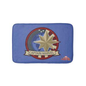 Captain Marvel | Captain Marvel US Military Badge Bath Mat