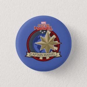 Captain Marvel | Captain Marvel US Military Badge Button