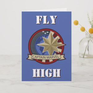 Captain Marvel | Captain Marvel US Military Badge Card