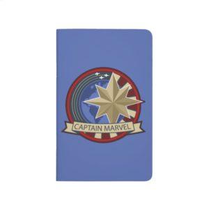 Captain Marvel | Captain Marvel US Military Badge Journal