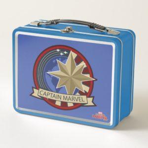 Captain Marvel | Captain Marvel US Military Badge Metal Lunch Box