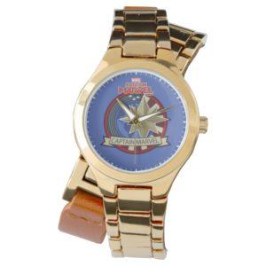 Captain Marvel | Captain Marvel US Military Badge Watch