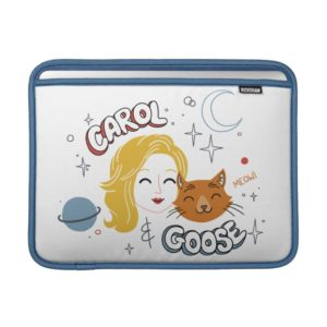 Captain Marvel | Carol & Goose Illustration MacBook Air Sleeve