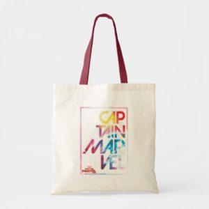 Captain Marvel | Colorful Planetary Horizon Tote Bag