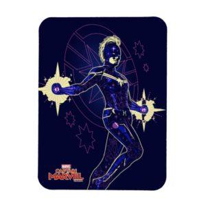 Captain Marvel | Constellation Character Art Magnet