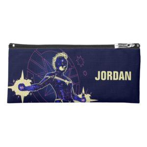 Captain Marvel | Constellation Character Art Pencil Case