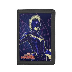 Captain Marvel | Constellation Character Art Trifold Wallet