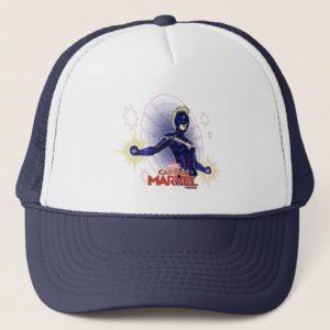Captain Marvel | Constellation Character Art Trucker Hat